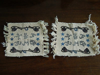 Vintage Collectable El Paso Saddlery Blanket Company - Hats and Stars