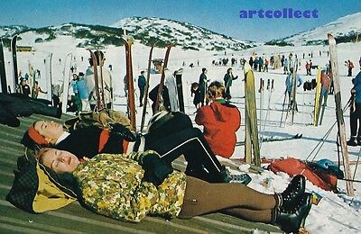 Image: Perisher Valley, Australia. Skiing. Vintage Fashion.