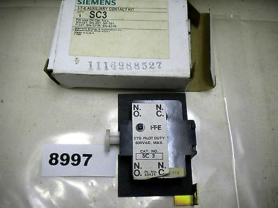 (8997) Siemens Auxiliary Contact SC3