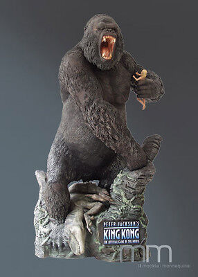 King Kong + Ann * Replica Prop Full-Life-Size Statue / Figure * Muckle / Oxmox