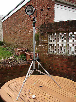 Ianiro Stage Light Theatre Lamp Studio Stage Tripod Stand Vintage Industrial