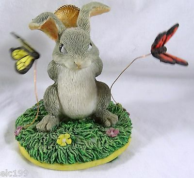 Charming Tails Catching Butterflies Figurine