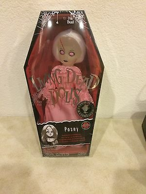 Mezco Living Dead Dolls Pink Posey Sealed Nycc Limited Edition Sold Out