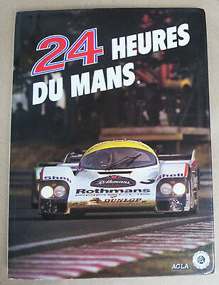 Book Les 24 Heures du Mans 1983 ACLA French texts by Moity & Teissedre