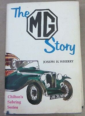 Book MG The MG Story by Wherry 1967