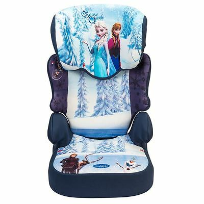 Nania Befix SP Disney Frozen Child Car Seat Group 2-3 High Back Booster Age 4+