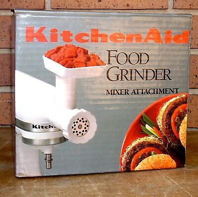 Kitchenaid FGA Meat Food Grinder Attachment Accessory Stand Mixer kitchen aid