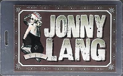 **** Jonny Lang **** - Laminated Backstage Pass - 1998 Tour - Perfect Condition