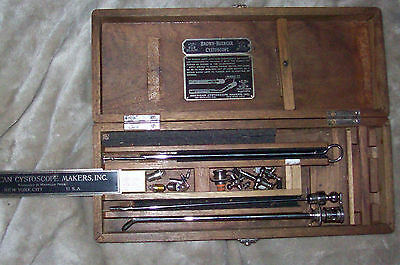 Brown-Buerger Cystoscope