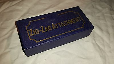 Rare ZIG-ZAG ZIGZAG Sewing Machine Attachement NOS NIB