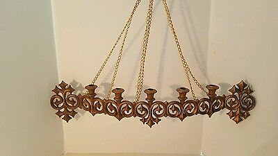 1971 Burwood Production Company Hollywood Regency Chained Chain Wall Hanging