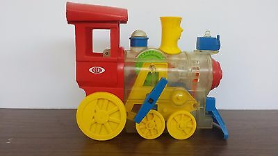 Vintage Ideal Whistling Wind-up Train 1974 TOOT- L-OO LOCO