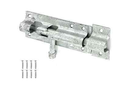 Securit 923a Galvanised Enclosed Tower Bolt for Outdoor Use Back Gate Door