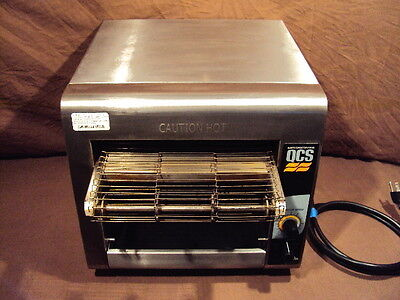 Star Holman Qcs-1-350 Commercial Compact Conveyor Toaster