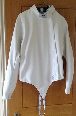 PBT Hungary Right Handed Fencing Jacket, size 102 (longer Length)