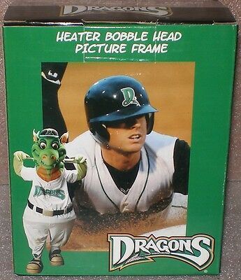 Dayton dragons heater bobble head picture frame
