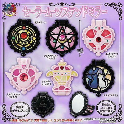SAILOR MOON Bandai Stained-glass Mirror CompleteSet GASHAPON Pre. JAPAN ShipFree
