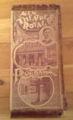 NEW THEATRE ROYAL CROYDON 1906 prog BABES IN THE WOOD