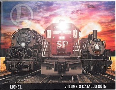 Lionel 6-83808 2016 Volume 2 Signature Catalog