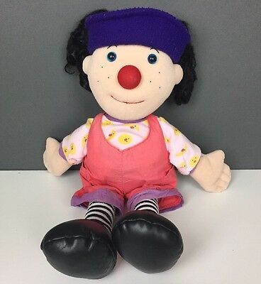 "1995 Big Comfy Couch Loonette Clown Plush Doll 20"" Commonwealth"