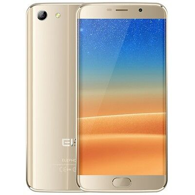 """Elephone S7 5.5"""" 4G Phablet Android 6.0 Helio X20 Deca Core 3G/32G FHD Ecran Or"""