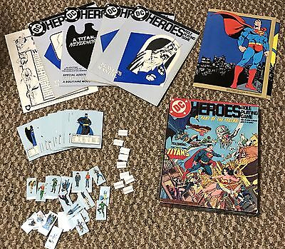 DC Heroes Role Playing Game Complete Box Set (Mayfair Games RPG)