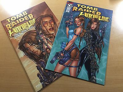TOP COW Eidos TOMB RAIDER WITCHBLADE 1997 1999 Special Michael Turner SHIPS FREE
