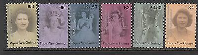 Papua New Guinea 2003 Coronation set of 4 stamps MUH/MNH.High retail Going cheap