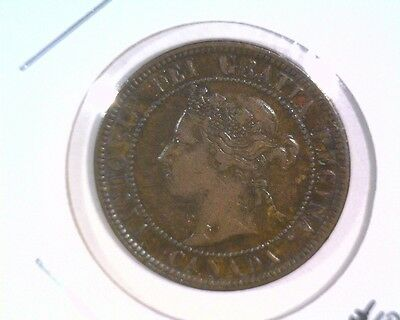 1884 Canada Large Cent KM#7 Extra Fine Condition *