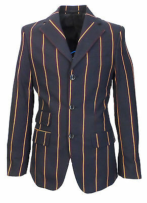 Relco Weller Blu Navy Boating Giacca