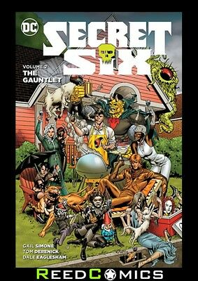 SECRET SIX VOLUME 2 THE GAUNTLET GRAPHIC NOVEL Paperback Collects (2014) #7-14