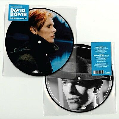 """DAVID BOWIE SOUND AND VISION PRESALE LTD 40th ANNIVERSARY PIC DISC 7"""" OUT 10/2"""