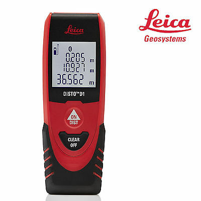 Leica Disto D1 Laser Distance Meter with Bluetooth 130 feet (40 meters) Portable