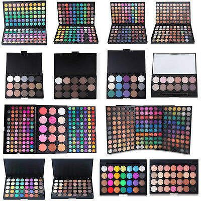 Fashion 120Colors Cosmetic Matte Smoky Eyeshadow Set Pearl Shimmer Palette New