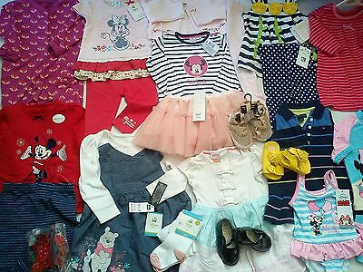 New Used Amazing 34 Next Hilfiger Baker Bundle Baby Girl Clothes 6/9 M 9/12M (4