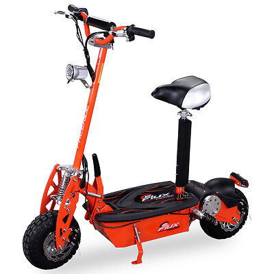 Elektroroller Scooter eFlux Freeride 1000 Watt E-Scooter Roller Scooter orange