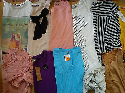 NICE NEW USED BRANDS 38x BUNDLE LADIES WOMENS CLOTHES SIZE 10 12 (4.9)