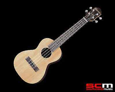 BRAND NEW CRAFTER UC-50 CEDAR and ROSEWOOD CONCERT UKULELE W/GIG BAG FREE P+H!