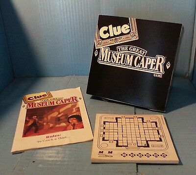 REPLACEMENT PIECES 1991 Parker Brothers Clue The Great Museum Caper pad, shield