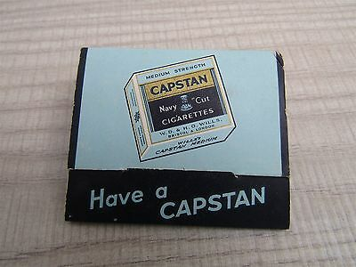 Vintage Will's Capstan Golf Tees Imperial Tobacco