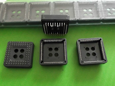 PLCC Socket 68 Way 2.54mm PCB Pins DIP x 4 pcs or Offers stock must go