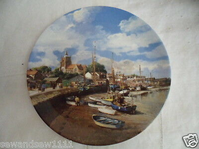 Danbury Mint Maldon Safe Harbours Collection Wedgwood Porcelain China Plate