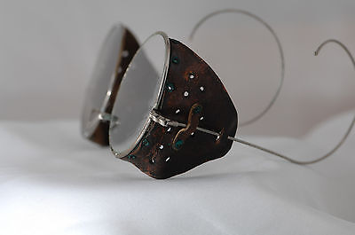 antique spectacles, safety glasses, driving glasses, motorcycle, Harley