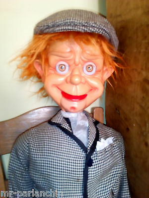 Mr Parlanchin puppet ventriloquist doll very rare fully working