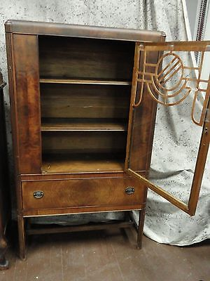 Antique/Vintage Art Deco China/Library Cabinet