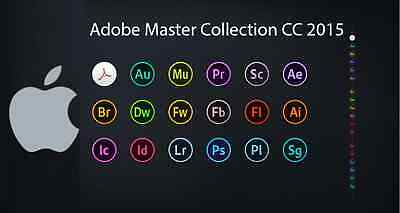 Adobe CC Master Collection 2015.5 (MacOSX) - DIGITAL DOWNLOAD - PROMOTION