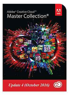 Adobe Creative Cloud 2017 Master Collection - DIGITAL DOWNLOAD - PROMOTION