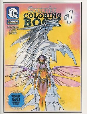 Soulfire Coloring Book Volume 1 Michael Turner J Scott Campbell Art Book New NM
