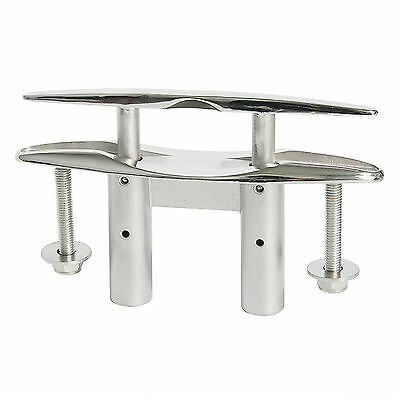 """Boa Pull Up Cleat / Pop Up 5"""" Flush Mount Lift  Marine 316 Stainless Steel"""