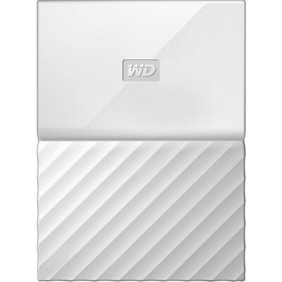Western Digital My Passport Portable weiss 4 TB, USB 3.0 Externe Festplatte